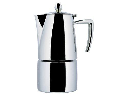 Ilsa Espressokocher Slancio 1 Tasse Induktion Edelstahl poliert