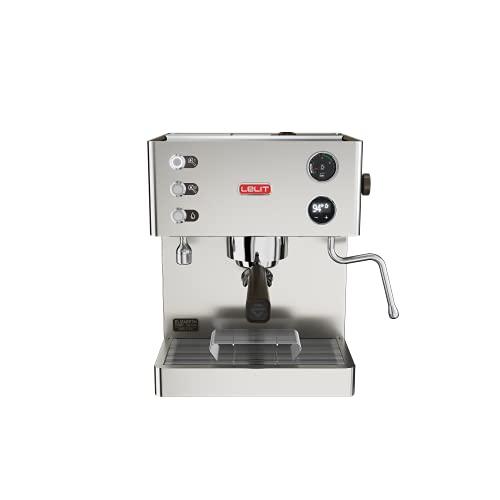 Elizabeth professionelle Dual Boiler Kaffeemaschine mit LCC, um alle Parameter zu leiten