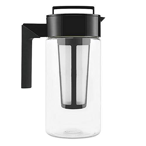 Rummershof Cold Brew Coffee Maker 1 Liter BPA-frei - Kaffeebereiter aus Tritan + gratis Ersatzfilter...