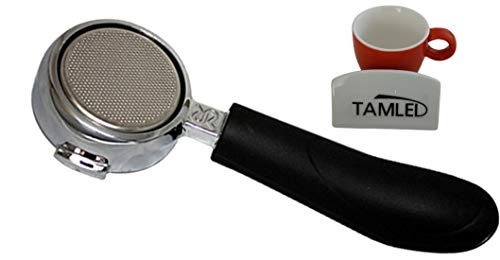 Siebträger bodenlos + Espressotasse für Rancilio Espressomaschinen Set