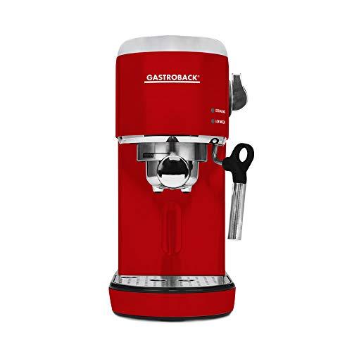 GASTROBACK #42719 Design Espresso Piccolo, Espressomaschine mit Milchaufschäumdüse, 19 bar...