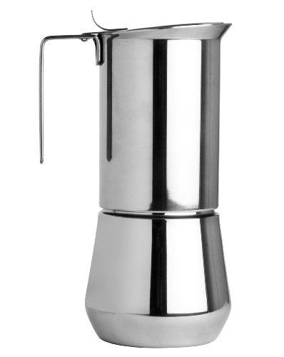 Ilsa Espressokocher aus Edelstahl für 3 Tassen