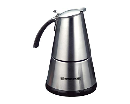 ROMMELSBACHER EKO 364/E Espressokocher elektrisch (2-4 Tassen, 250ml Füllmenge, 2...