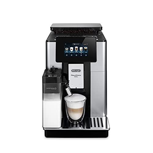 De'Longhi PrimaDonna Soul ECAM 612.55.SB Kaffeevollautomat mit LatteCrema Milchsystem & Bean Adapt...
