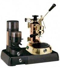 La Pavoni Messing Combo set 2: Handhebel Espressomaschine La Pavoni Professional PR, La Pavoni...