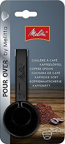Melitta Kaffeedosierlöffel mit Mengenmarkierungen, Für 8, 10 oder 12 g, Kunststoff, Schwarz,...