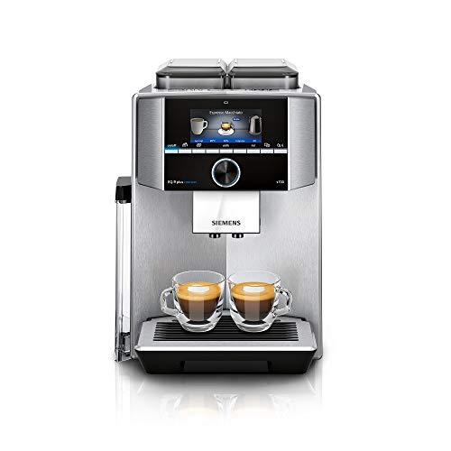 Siemens TI9578X1DE EQ.9 plus connect s700 Kaffeevollautomat Personalisierung, 2 Bohnenbehälter,...