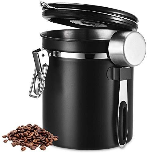 Beaspire Kaffeedose, Kaffeedose Luftdicht, Kaffeebehälter, Kaffeedose Edelstahl Aromadose...