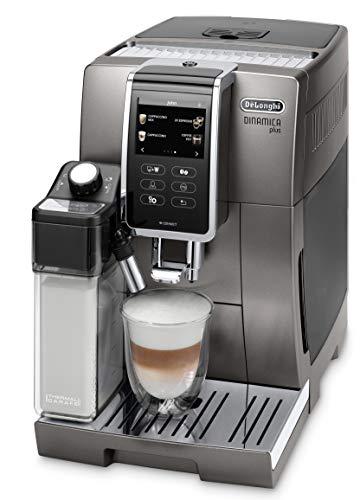 De'Longhi Dinamica Plus ECAM 370.95.T Kaffeevollautomat mit Milchsystem, Cappuccino und Espresso auf...