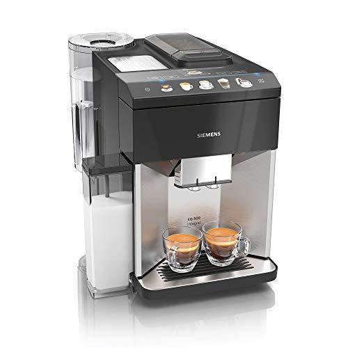 Siemens EQ.500 integral Kaffeevollautomat TQ507D03, einfache Bedienung, integrierter Milchbehälter,...
