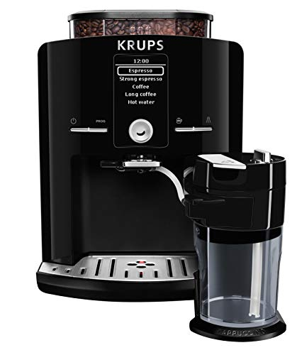 KRUPS EA8298 Kaffeevollautomat Latt'Espress One-Touch-Funktion (1,7 l, 15 bar, LC Display,...