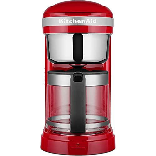 KitchenAid Drip-Kaffeemaschine mit spiralförmigem Wasserauslass 5KCM1209 (Empire Rot)