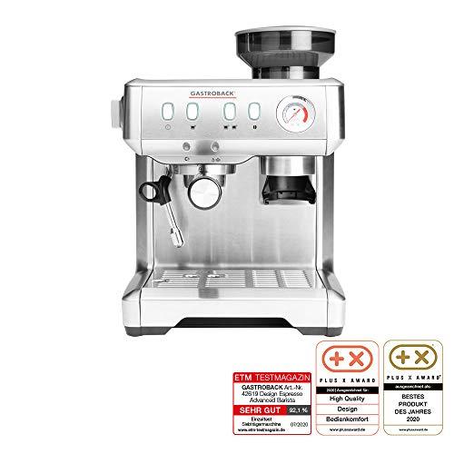 Gastroback 42619 Design Espresso Advanced Barista, programmierbare Siebträger-Espressomaschine mit...