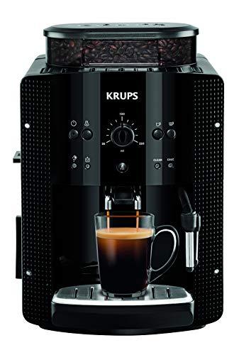Krups Essential EA8105 Kaffeevollautomat | Espresso und Kaffee | mit CappucinoPlus- Milchdüse |...