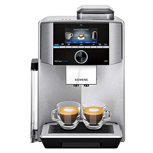 Siemens EQ.9 Plus Connect s500 TI9553X1RW Kaffeevollautomat mit Touchscreen - für zwei Tassen...