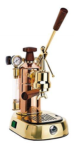 La Pavoni Professional PRG Halbautomatische Espressomaschine, 1,6l, 16Tassen, goldfarben, für...