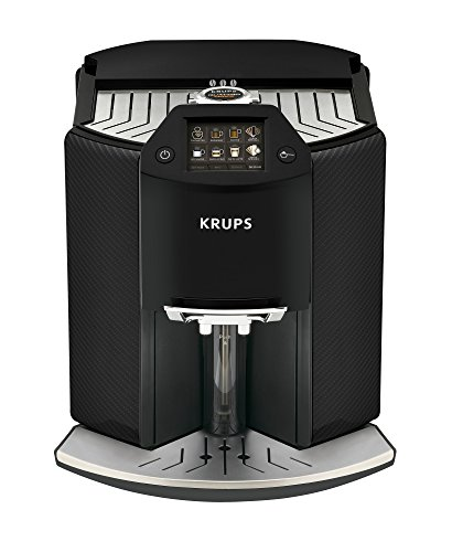 Krups Kaffeevollautomat Barista New Age One-Touch-Cappuccino, farbiges Touchscreen Display, 1.6...
