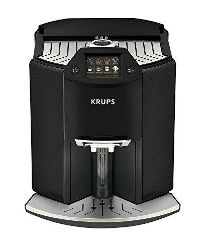 Krups Kaffeevollautomat Barista New Age EA9070 | mit 17 One-Touch-Getränken | farbiges Touchscreen...