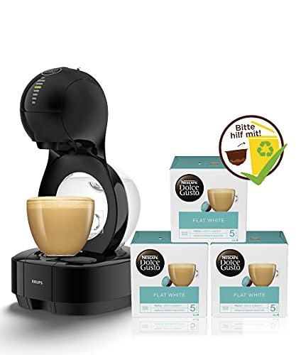 Krups Nescafé Dolce Gusto Lumio KP1308 Kapsel Kaffeemaschine (XL-Kaffee Funktion) schwarz +...