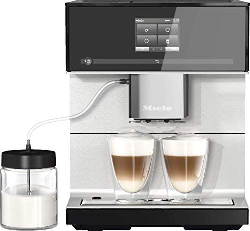Miele CM 7350 CoffeePassion Stand Kaffeevollautomat / OneTouch for Two / Reinigungsprogramme /...