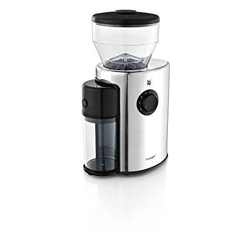 WMF Skyline Kaffeemühle, Esspressomühle, elektrisch, Kegelmahlwerk aus Stahl, 12-stufiger...
