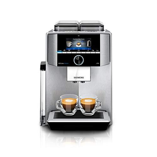 Siemens EQ.9 plus connect s700 Kaffeevollautomat TI9575X1DE, Personalisierung, 2 Bohnenbehälter,...