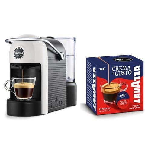 Lavazza A Modo Mio, Jolie Espressomaschine mit 64 Kapseln Creme und Geschmack inklusive,...
