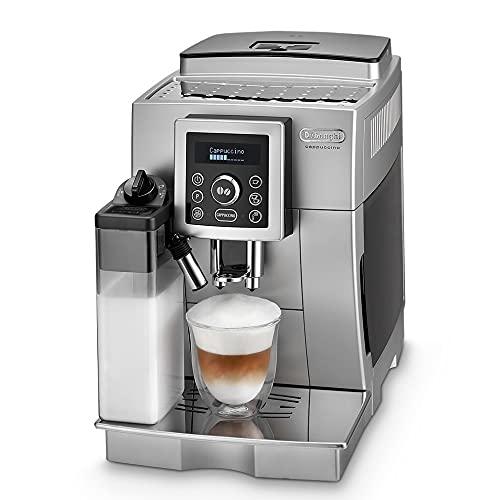 De'Longhi ECAM 23.466.S Kaffeevollautomat mit Milchsystem, Cappuccino und Espresso auf Knopfdruck,...