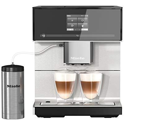 Miele CM 7350 Kaffeevollautomat (Smartphone bedienbar mit WiFiConnect, Kaffeemaschine für Bohnen,...