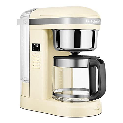 KitchenAid Drip-Kaffeemaschine mit spiralförmigem Wasserauslass 5KCM1209 (Creme)