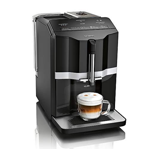 Siemens EQ.300 Kaffeevollautomat TI351509DE, kompakte Größe, einfache Bedienung, 1.300 Watt,...