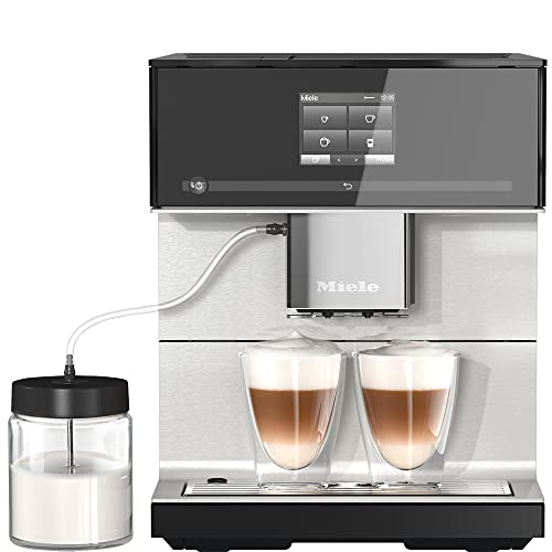 Miele CM 7350 CoffeePassion Kaffeevollautomat – OneTouch for Two, AromaticSystem, 8...