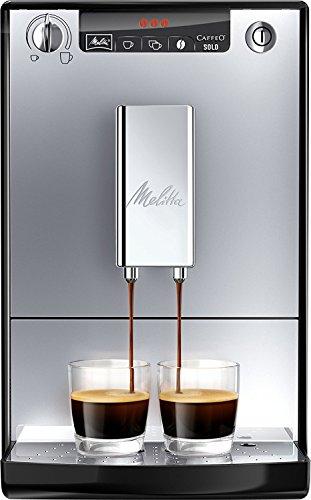 Melitta Caffeo Solo E950-103 Schlanker Kaffeevollautomat mit Vorbrühfunktion   15 Bar   LED-Display...