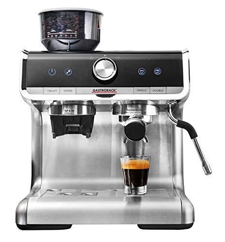GASTROBACK #42616 Design Espresso Barista Pro, programmierbare Siebträger-Espressomaschine mit...