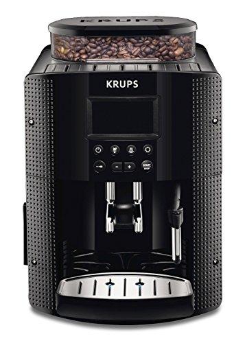 Krups EA815070 Kaffeevollautomat (1450 Watt, 1,8 Liter, 15 bar, LC Display, CappuccinoPlus-Düse)...