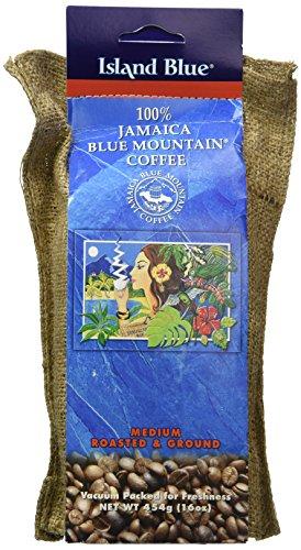 Insel Blau -100% Der Jamaica Blue Gebirgskaffee Boden (454g)