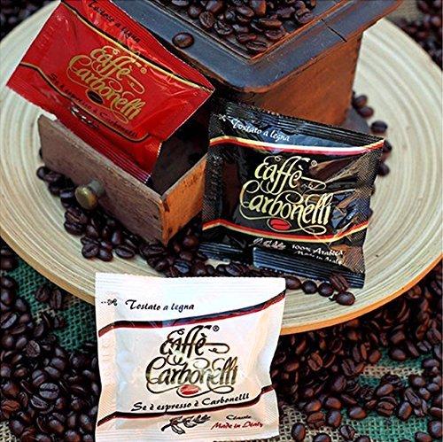 Kaffee ESE Pads Probierpaket Ristretto, Arabica, Italienischen Espresso (150 Pads)