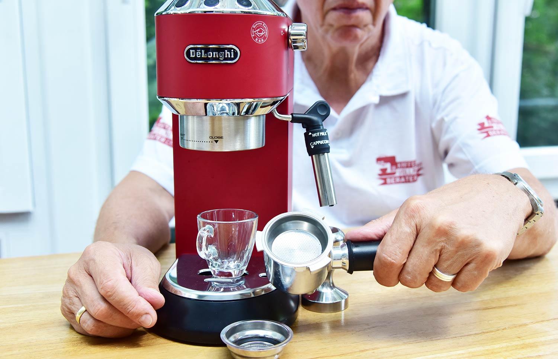 Espressomaschine: DeLonghi-EC685 Siebträgermaschine