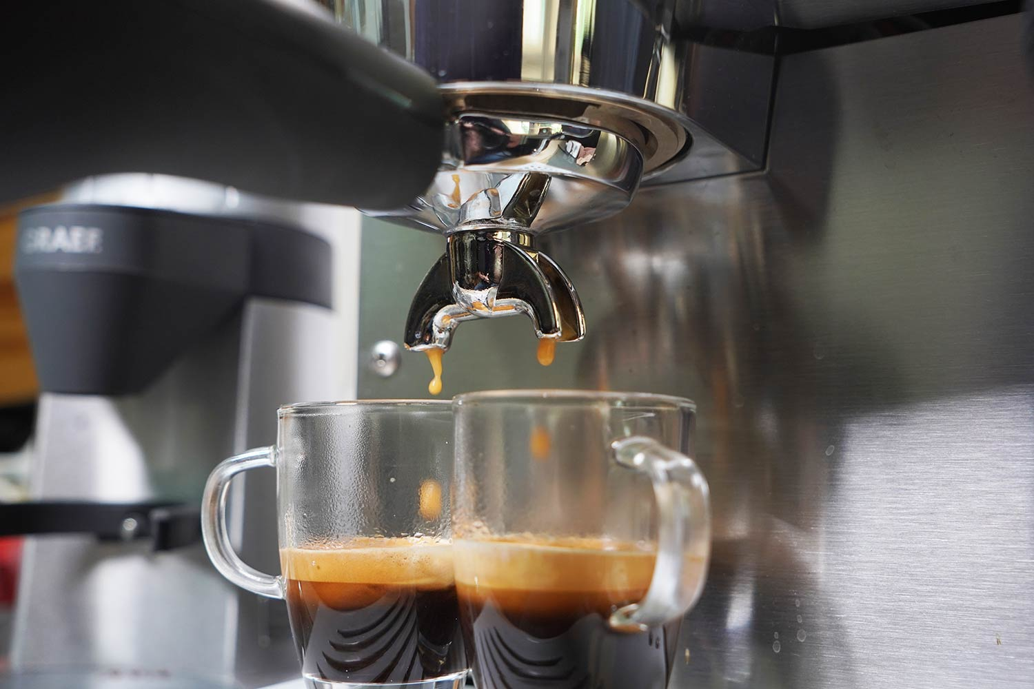Espressomaschinen Test