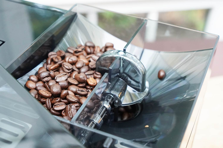 Melitta-Kaffeevollautomat Bohnenbehälter
