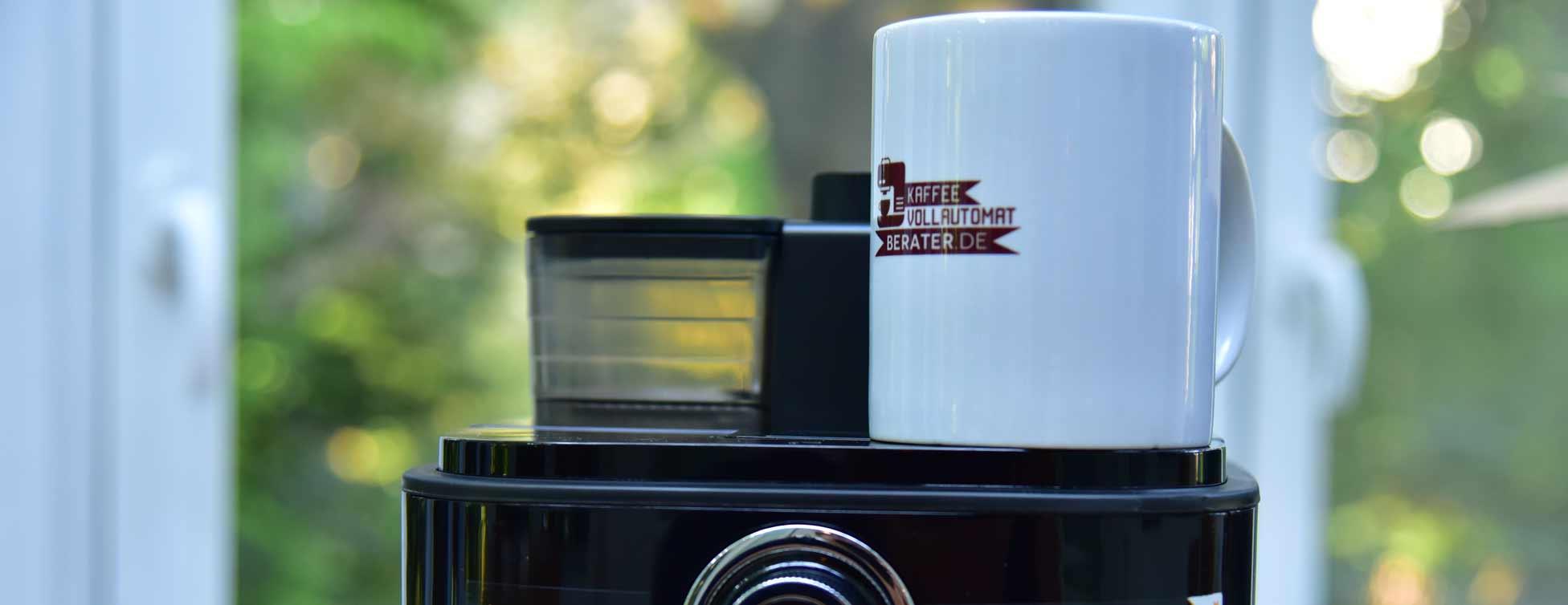 Kaffeemaschine mit Mahlwerk: Testergebnis Philips-HD776600