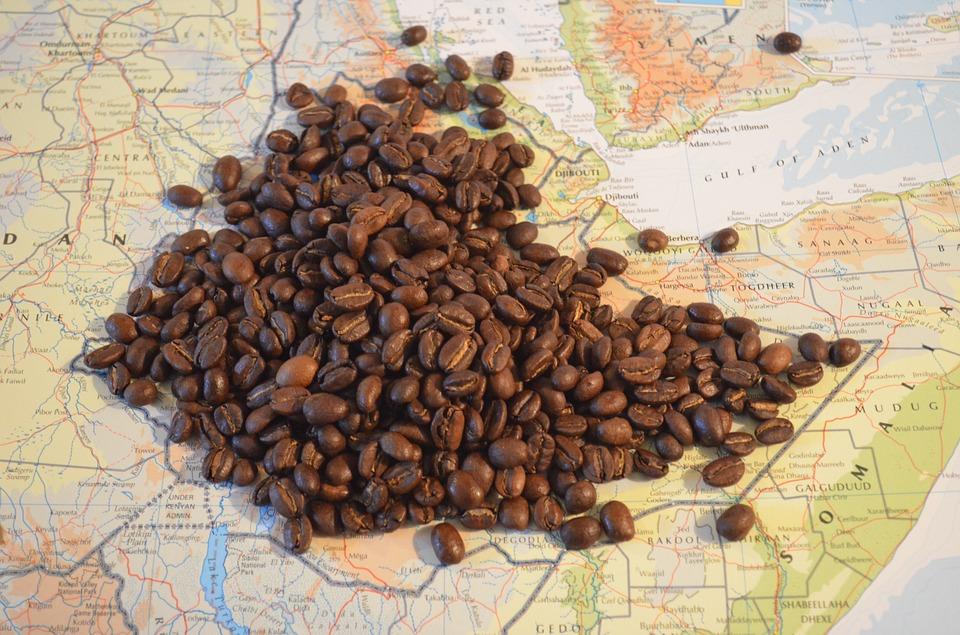 Kaffee stammt aus Äthiopien