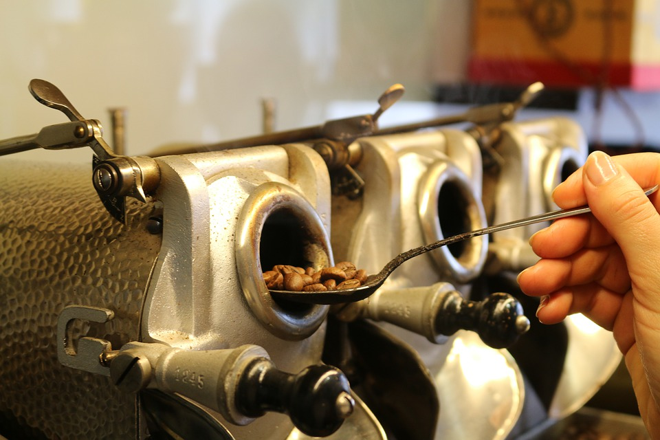 Bei Kaffee Röstung die Qualität bestimmen