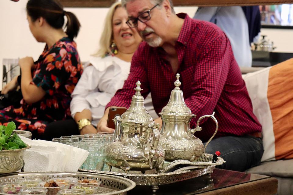 Kaffee im orientalischen Basar