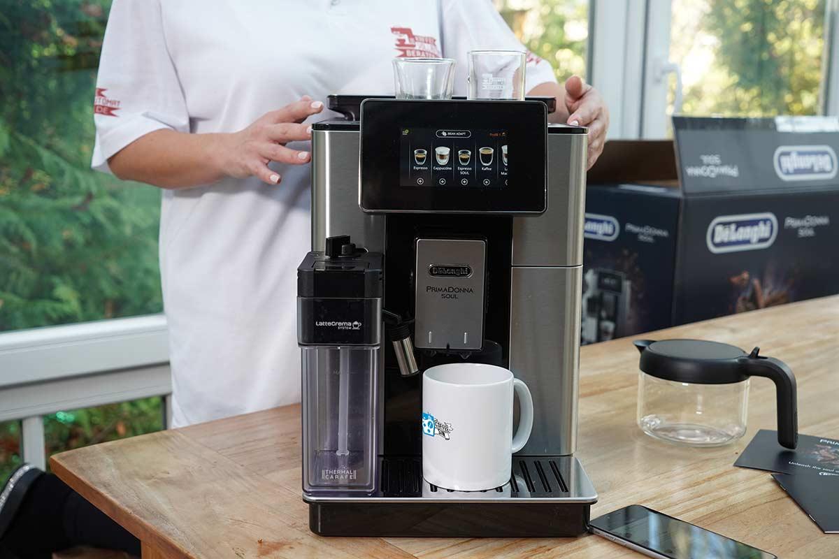 De´Longhi PrimaDonna Soul Kaffeevollautomat